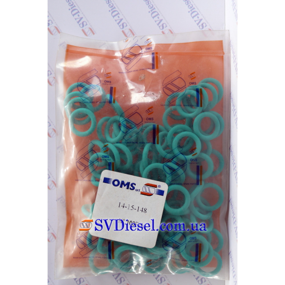 Купити Кольцо опорное(11,5*3) 14-15-148 (BOSCH F 00R J01 456/529) в  Україні