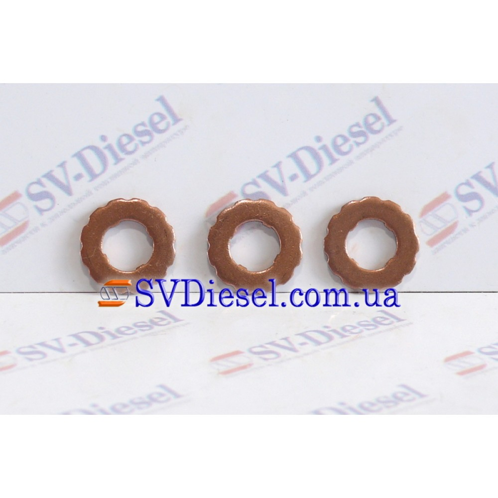 Уплотнительное кольцо 14-05-304 (7x7,7x14,5x1,5) F 00R J02 175