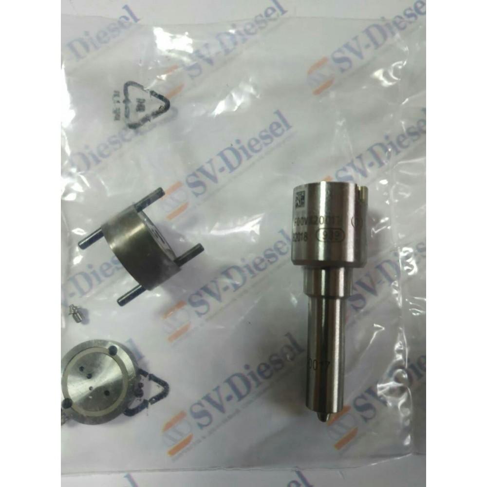 Купити Ремкомплект п'єзофорсунки Bosch (розпилювач F 00V X20 017 + клапан+проставка) в  Україні