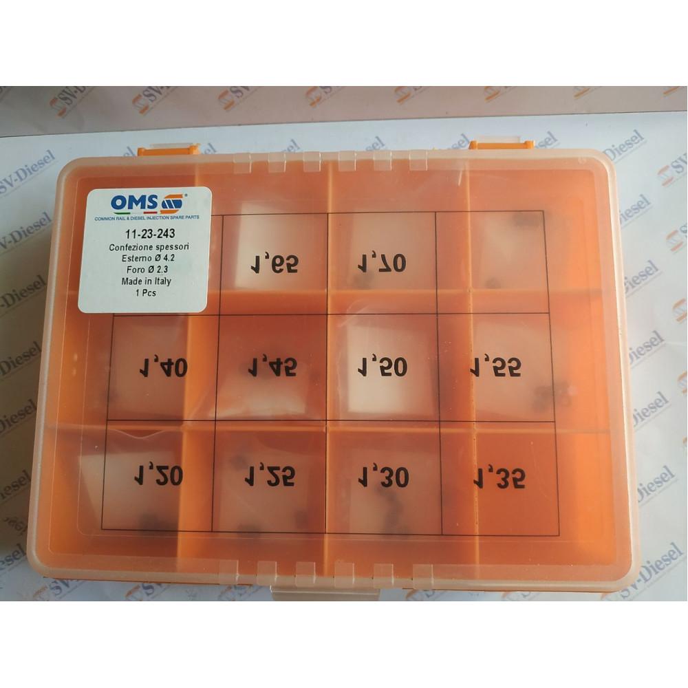 Купити Комплект регулювальних шайб CR Bosch 11-23-243 (d2.3/d4.2  1.20-1.70 110 шт., шаг 0,05 в  Україні