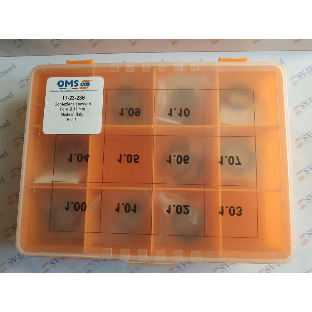 Комплект регулювальних шайб СR Bosch 11-23-236 (d19/d23,7  1.00-1.10)
