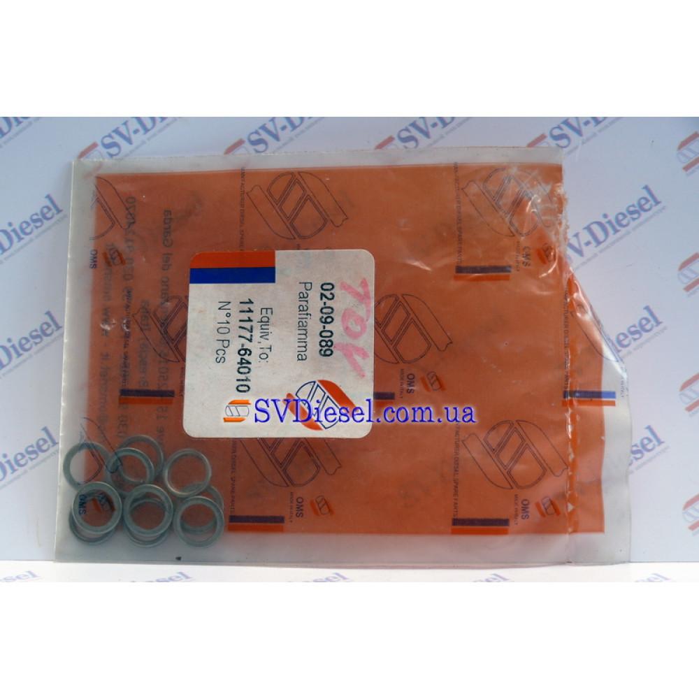 Шайба-прокладка топливной форсунки (TOYOTA - 11177-64010) 02-09-089